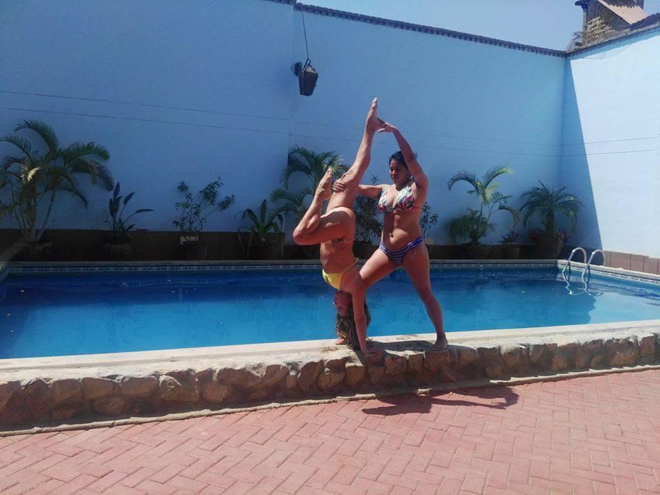Yoga acrobático