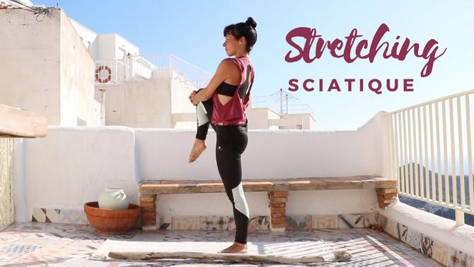 Séance vidéo Stretching pour la sciatique en 10 min.