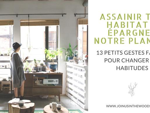 Assainir ton habitat et épargner notre planète : 13 petits gestes faciles pour changer tes habitudes