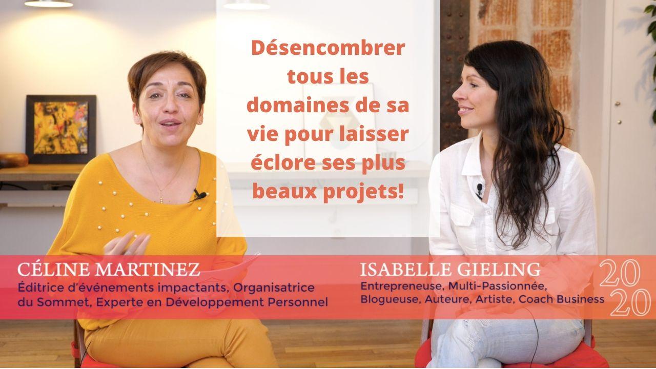 Emission en ligne: Sommet de la Réussite avec Céline Martinez