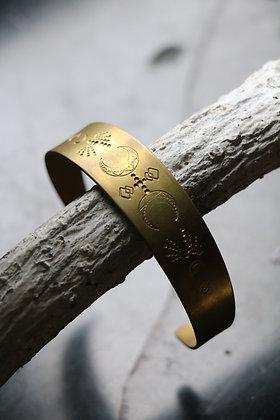 Bracelet en laiton | Collection Chaman