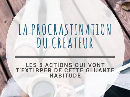 Procrastination du créateur: Bye Bye! Concrétisation: Hello!