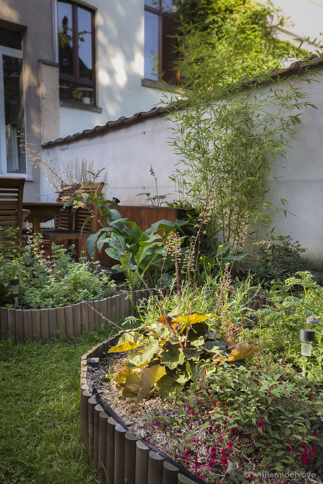 Réalisation du jardin