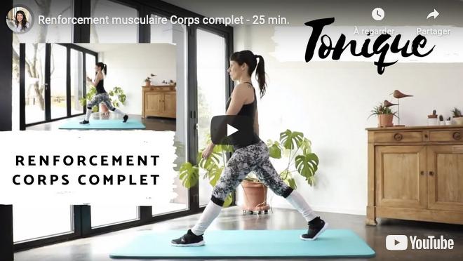 Séance vidéo Renforcement musculaire corps complet