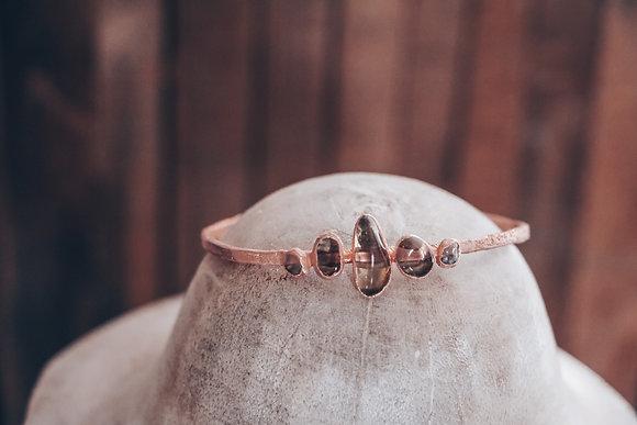 Bracelet d'Elfe - Quartz fumé