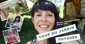 Vidéo Tour de notre jardin & potager en permaculture en 2019
