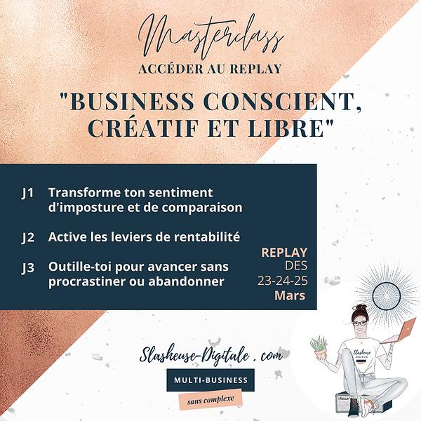 Replay_Business conscient et joyeux - sl