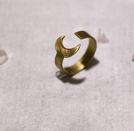 """Bague """"Lune de la femme Loup"""""""