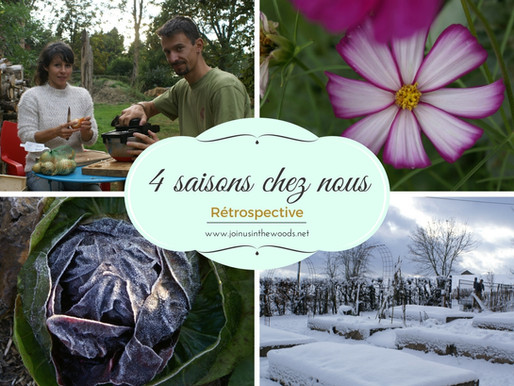 4 saisons chez nous: rétrospective en images