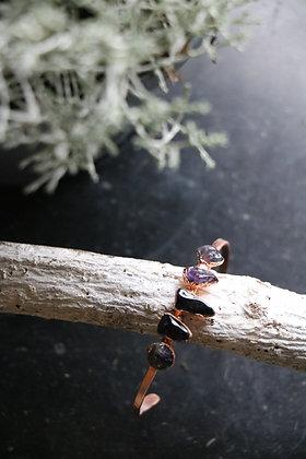 Bracelet d'Elfe -Améthystes