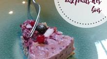Recette de gâteau vegan aux fruits des bois
