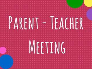 **PARENT TEACHER MEETING**