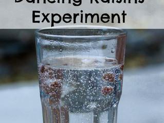 The dancing raisins science activity