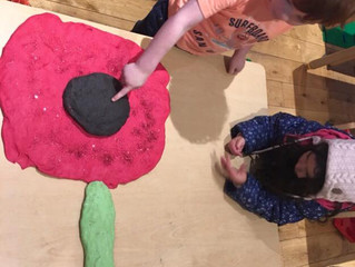 🌺Children have been busy celebrating and learning about the 'Remembrance Day' this week.🌺