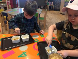Bringing Montessori approach to#BuildingBlocksPreschool
