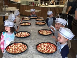 🍕🍕Great fun making our own pizzas today at Pizza Express 🍕🍕