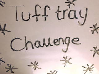 "Week 2- ""Tuff Tray"" Challenge"