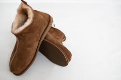 saxon sheepskin booties brown 4.jpg