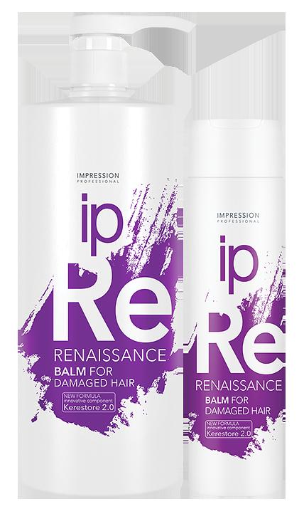 Восстанавливающий бальзам  для поврежденных волос «Renaissance» 1000 /250 /100мл