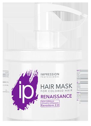 Восстанавливающая биомаска  для поврежденных волос «Renaissance» 470 / 100 мл