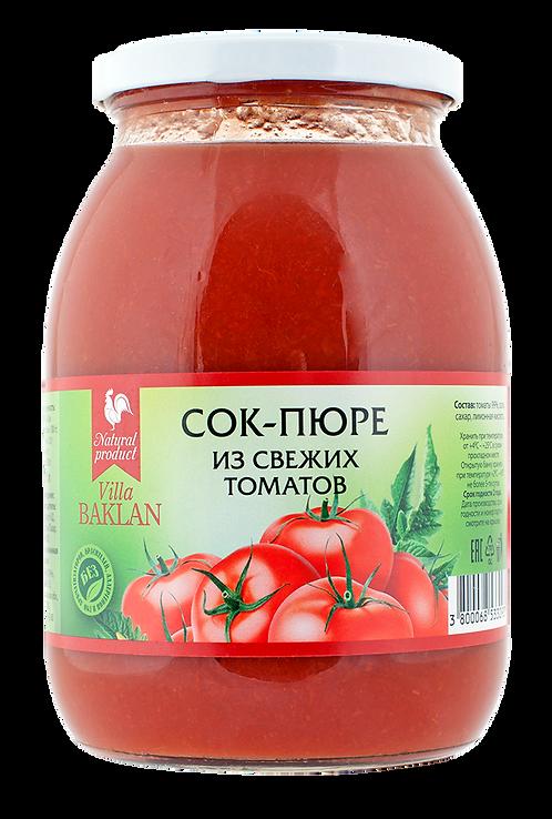 Сок-пюре из свежих томатов