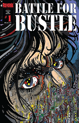 Battle For Bustle Issue 1 Variant Cover #1