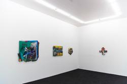 """Installation view at """"Animatrix Biennale 2015-2016"""""""