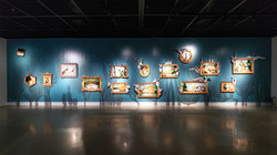 """Installation view at """"Life between Delight and Discomfort"""""""