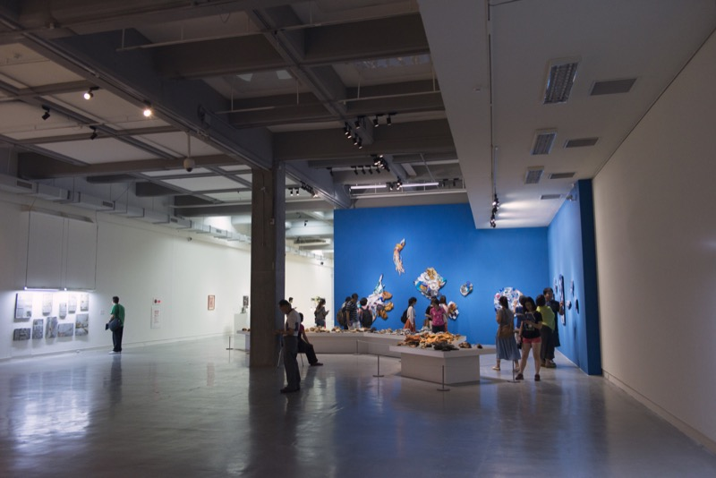 "Installation view at ""Taipei Biennial 2014 - The Great Acceleration"""