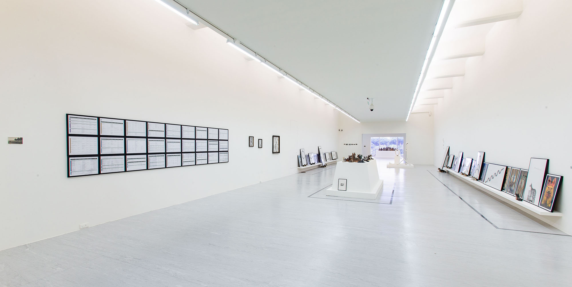Installation view at Taipei Fine Arts Museum