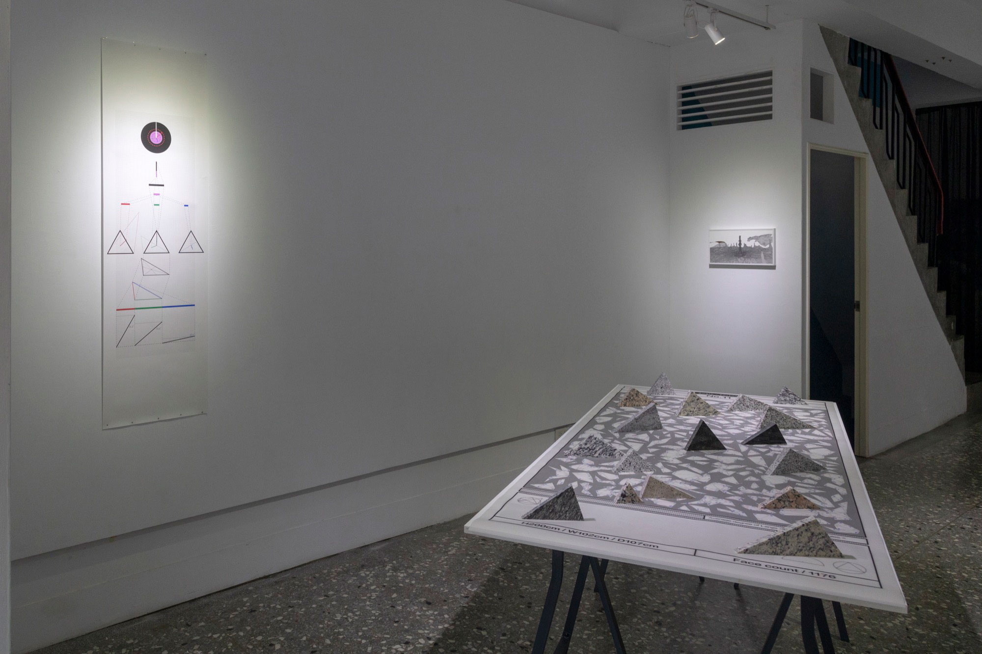 "Installation view at ""Relocating Divinity: Being an Atheist Theist"""