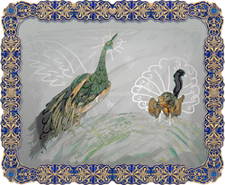 The Peacock & The Flying Squirrel