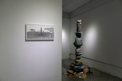"""Installation view at """"Relocating Divinity: Being an Atheist Theist"""""""