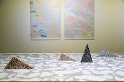 """Installation view at """"2017 Cre8tive Report"""""""