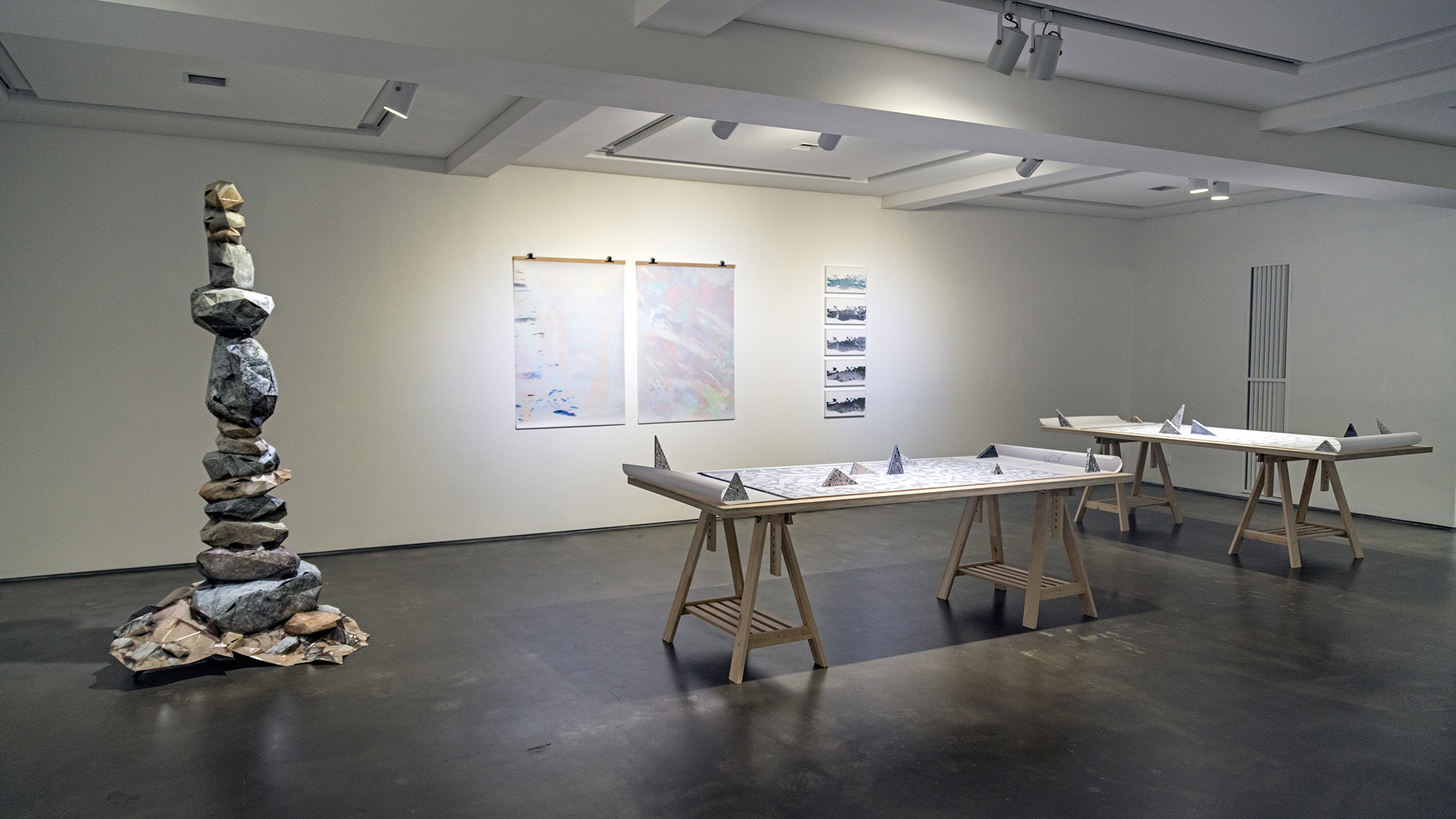 "Installation view at ""2017 Cre8tive Report"""