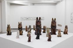 """Installation view at """"Schäferhund"""""""