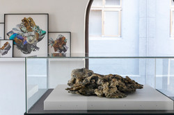 """Installation view at """"The Fourth Age of Man - Contemporary Art in Jinguashi"""""""