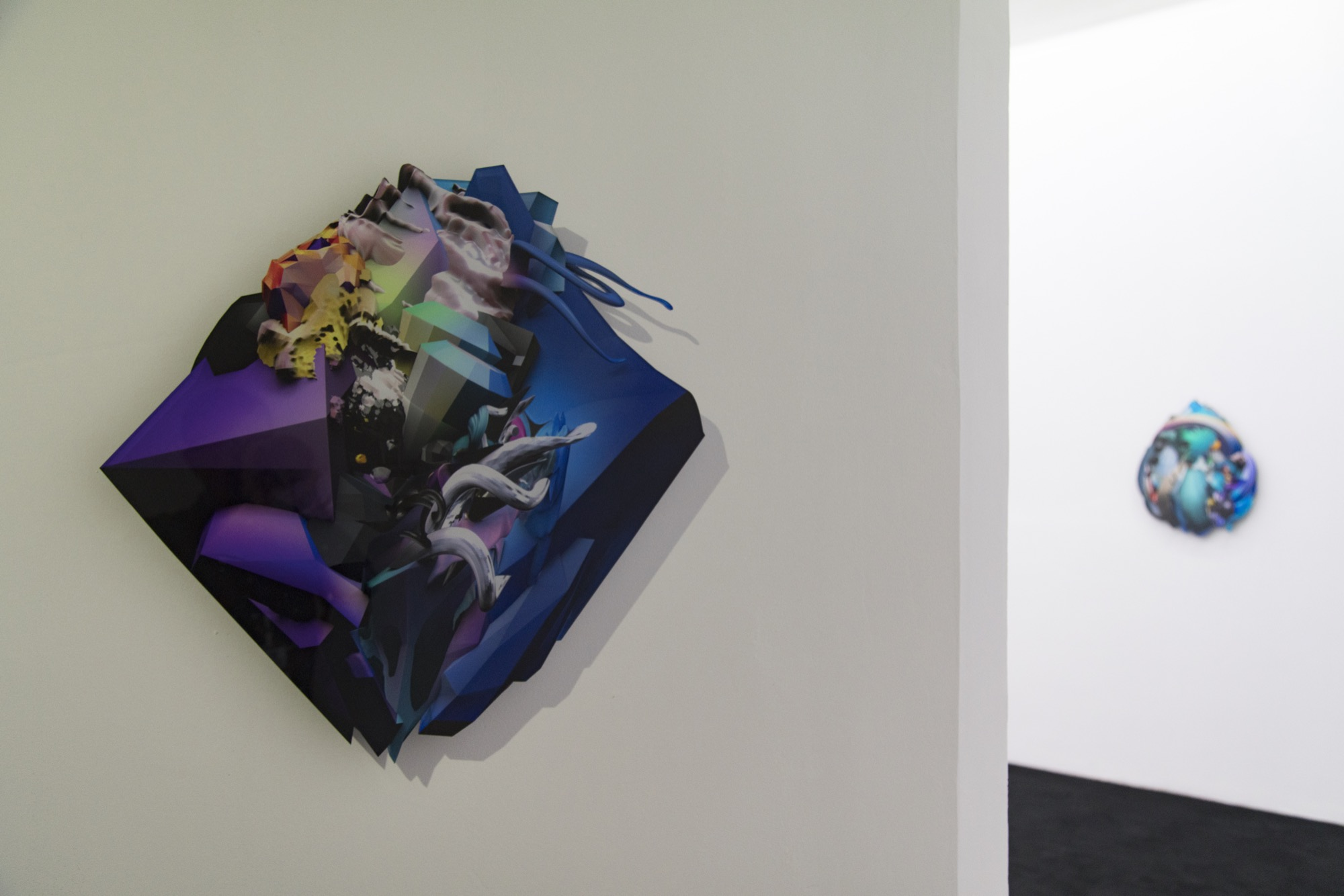 "Installation view at ""Animatrix Biennale 2015-2016"""
