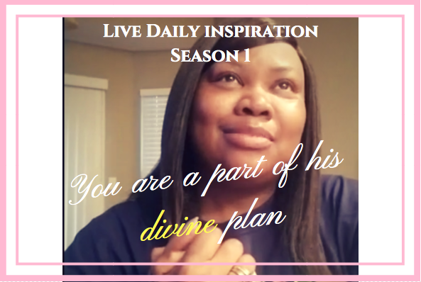 You are a part of His divine plan