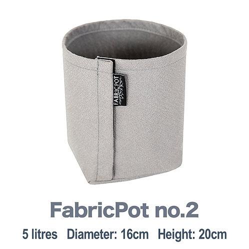 Fabric pot no.2 | 5 litres | FabricPot