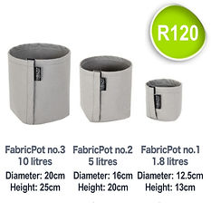 Fabric Pot no.1 to 3_FabricPot price SQU