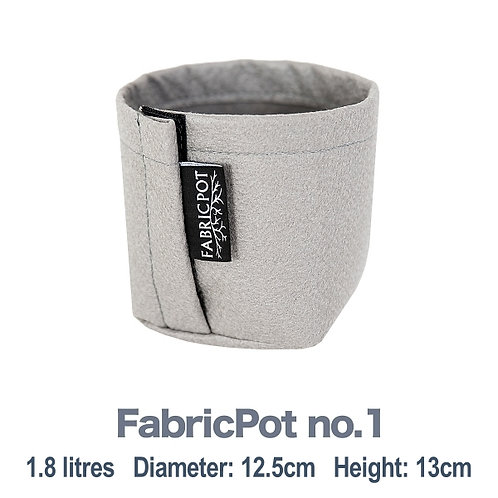 Fabric pot no.1 | 1.8 litre | FabricPot