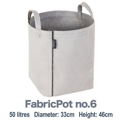 Fabric pot no.6 with handles | 50 litres | FabricPot
