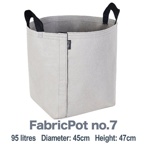 Buy 3 and Get 1 Free ⎮ 95L FabricPot no.7 with black handles