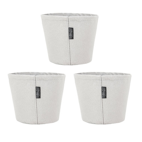 FabricPot Large Tapered Set of 3