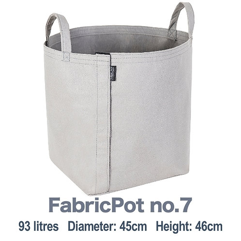 Fabric pot no.7 with handles | 93 litres | FabricPot