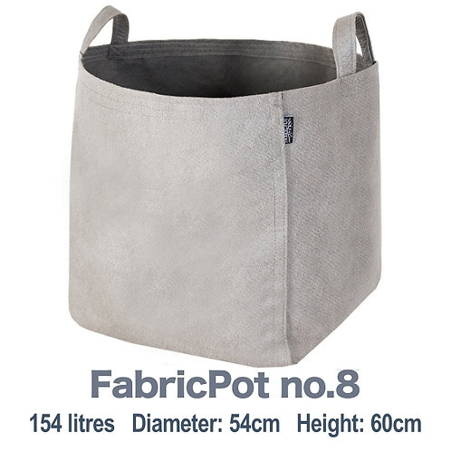 Fabric pot no.8 with handles | 154 litres | FabricPot