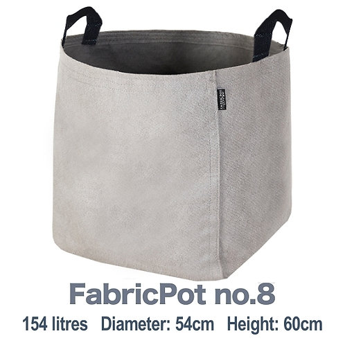 Buy 3 and Get 1 Free ⎮ 154L FabricPot no.8 with black handles