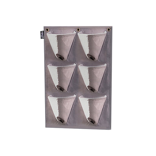 FabricPot x6 Tapered Wall Hanging