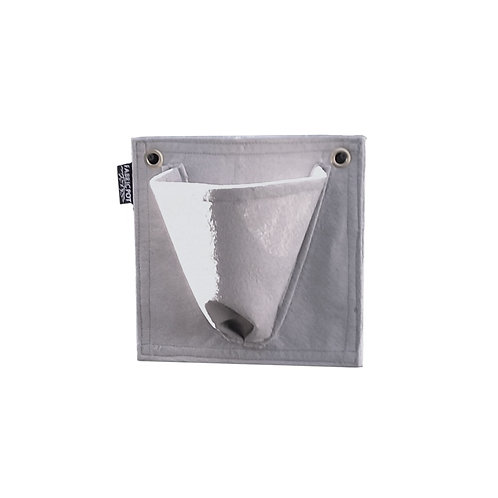 FabricPot Single Tapered Wall Hanging